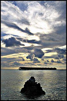 Water bungalows, Filitheyo, Maldives