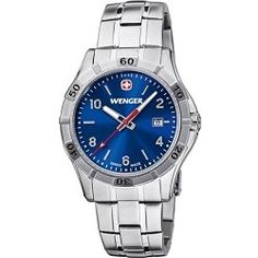 Wenger Men's Platoon Analog Watch - Blue Dial/Stainless Steel Bracelet - product - Product Review