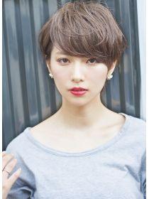 Pin on 髪型 Asian Short Hair, Medium Short Hair, Asian Hair, Girl Short Hair, Short Hair Cuts, Short Hair Styles, Short Hairstyles For Women, Pretty Hairstyles, Hair Arrange