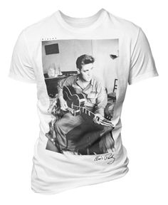 New T-shirt project dedicated to the great Elvis Presley