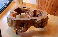wonder if there is enough wood around the outside of my old hollow apple tree to make something like this.. heart of mine be still  (this one is for sale at Urban Hardwoods