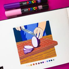 Learning to Draw? You're Gonna Need a Pencil - Drawing On Demand Posca Marker, Marker Art, Art Drawings Sketches, Cute Drawings, Pencil Drawings, Sketchbook Inspiration, Art Sketchbook, Posca Art, Poses References