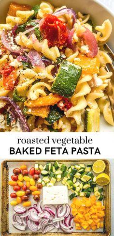 Veggie Pasta Recipes, Tasty Vegetarian Recipes, Healthy Dinner Recipes, Cooking Recipes, Vegetarian Pasta Bake, Main Meal Recipes, Meatless Dinner Ideas, Pasta Recipes For Dinner, Healthy Vegetarian Dinner Recipes