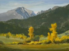 How do I use aspen trees in the foreground to create depth in a ...