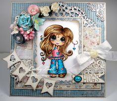 Bestie hugs card by Cathy Lee.... (pinned from Facebook)