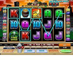 Hracie automaty Money mad Monkey - Dej tejto hry sa odohráva okolo bláznivej opice, ktorá stvára všade len huncúctvo. Zahrajte sa jej skákacie hry, ktoré Vás potešia odmenami. - http://www.slovenske-casino.com/online-kasino-hry/hracie-automaty-money-mad-monkey-2 #HracieAutomaty #VyherneAutomaty #Jackpot #Vyhra #MoneymadMonkey