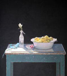"""Vejle,"" by Colin Fraser, 40.25 x 36.2, egg tempera on panel -- at Principle Gallery"
