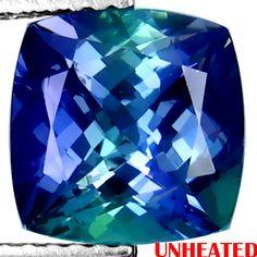 Greenish blue tanzanite