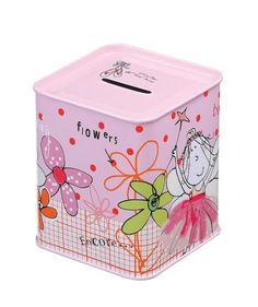 Caroline Gardner - Sands Gifts £3.99 http://www.sandsgifts.co.uk/caroline-gardner-flora-fairy-money-box.ir?cName=brands-caroline-gardner