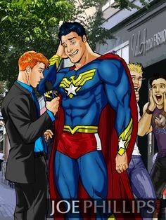 Superman gay porn comic
