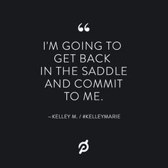 """peloton on instagram """"""""this quote speaks to me because it"""