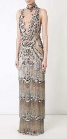 Featured Dress: Marchesa; Viawww.farfetch.com; Evening dress idea.