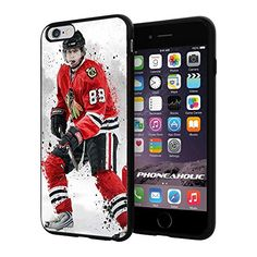 "Hockey NHL Chicago Blackhawks Kane , Cool iPhone 6 Plus (6+ , 5.5"") Smartphone Case Cover Collector iphone TPU Rubber Case Black Phoneaholic http://www.amazon.com/dp/B00VU1X2S0/ref=cm_sw_r_pi_dp_yJ8lvb0Q4889J"