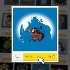 (EN) Have you seen our latest designs? VOTE for your favorites on WWW.WISTITEE.COM (FR) Avez-vous vu nos derniers designs ? VOTEZ pour vos préférés sur WWW.WISTITEE.COM  #Pumbaa #Asterix #Obelix #AsterixLeGaulois #TheAdventuresOfAsterix #LeRoiLion #TheLionKing #sanglier #WildBoar #BandeDessinee #FrenchComics #Disney #Trheewood #wistitee #design #tee #tshirt #illustration