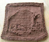 Knitting Memories: Armadillo Cloth (LSSK September '06 Cloth KAL)