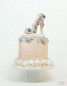 Romantic Bride High heel Cake