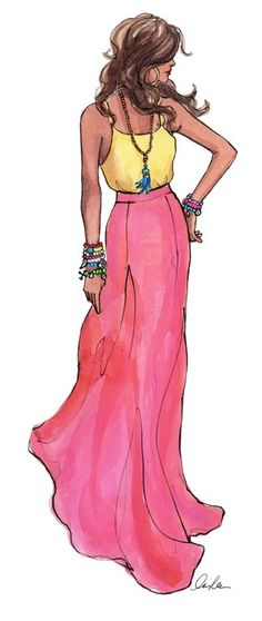 Cupcakes & Couture: Summer Art by Inslee