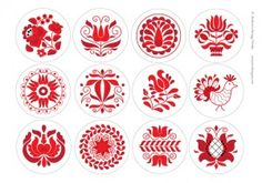 karacsonyfa-diszek2 Embroidery Stitches, Embroidery Patterns, Hand Embroidery, Diy And Crafts, Arts And Crafts, Scandinavian Folk Art, Hungarian Embroidery, Christmas Crafts For Kids, Beads And Wire