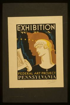 Exhibition WPA Federal Art Project Pennsylvania / Artist: Katherine Milhous - WPA Philadelphia Federal Art Project - 1936-1938