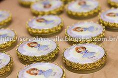 Queila Schineider Scrapbooking e Arte em Papel: Festa linda de Princesinha Sofia para Princesa Sophia!