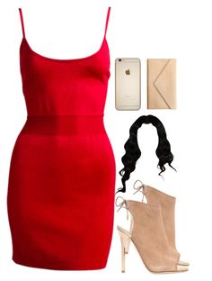 """""""this ugly . ‼️"""" by chyna-campbell ❤ liked on Polyvore featuring Alaïa, Jimmy Choo and Carré Royal"""