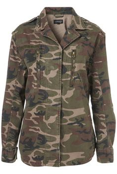 See how we make this camo jacket feminine in today's Trend Trial story! $96