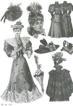 Fashion in 1893