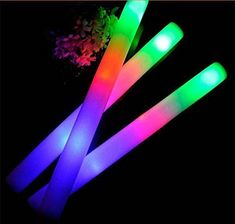 led light stick light up foam glow sticks toys party christmas