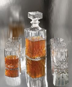 Look at this Denmark Seven-Piece Whiskey Set on #zulily today!
