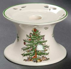 Spode Christmas Tree (Green Trim) at Replacements, Ltd Spode Christmas Tree, Christmas Dishes, Dinnerware, Bb, Crystals, Tableware, Green, Kitchen, Vintage