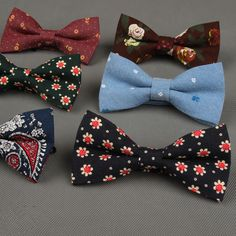 Find More Ties & Handkerchiefs Information about Retro British Style Men's Bow Tie For Wedding Party Casual Fashion Men Suit Cravat Unisex  Flowers Pattern Clothing Jewelry,High Quality bow tie dog collar,China tie bow ties men Suppliers, Cheap bow brooch from Women/Men/Baby Stylish on Aliexpress.com