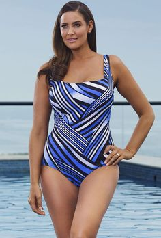 af19866cb4 Longitude Del Mar Tank Swimsuit Women s One Piece Swimsuits