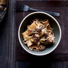 This rich, wholesome dish gets a ton of flavor from nutty whole-grain pasta and seared chicken livers.