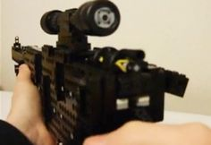 Fully Functional LEGO Sniper Rifle