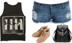 """Indie Rocker!!!"" by beth-willett ❤ liked on Polyvore"