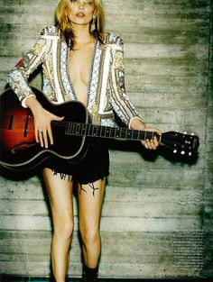 Balmain 2013 - Model Kate Moss