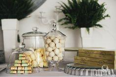 10. Irish theme Wedding,Sweet table decor,Fern,Sweets / Irlandzkie wesele,Dekoracja słodkiego stołu,Paproć,Anioły Przyjęć