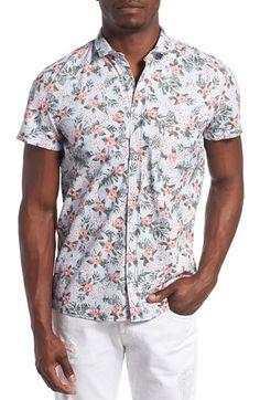 BOSS Orange  Ezippoe  Extra Trim Fit Short Sleeve Check Woven Shirt Urban  Fashion Women e67f66b737ba