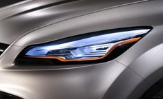 Ford Vertrek concept headlight