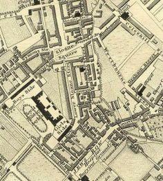 Knightsbridge – Jane Austen's World Waterloo Map, Chelsea London, English Decor, London Map, Vintage London, Vintage Maps, Historical Maps, Cartography, British Isles