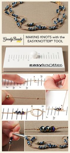 Making Knots with the EasyKnotter Tool Tutorial #cbloggers #fbloggers #lbloggers…