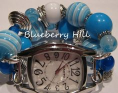 Blueberry Hill Interchangeable Beaded Watch Band