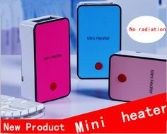 2016 No radiation Mini Warm Air Electric Heater Portable Desk Fan Fire-protection Materials Handheld Electric Heating Device