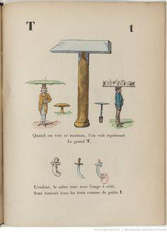 A. B. C. Trim, alphabet enchanté. [Illustrations par Bertall.]
