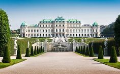 Vienna, Austria. Get lost in the Belvedere's baroque gardens, then wander the palatial marble-filled halls before gawping at 1,000 years of Austrian art in the National Gallery.