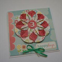 Scrapgaleria-Tilda dolls, paper tilda, tilda patterns: Flower origami step by step