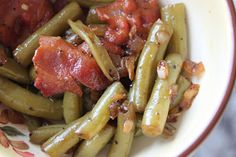 A Well-Seasoned Life: Barb's Bacon Green Beans