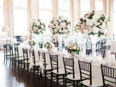 Photography: Elisabeth Carol Floral: Something Pretty Floral Coordination: Chic Fleur Weddings and Events Chargers: Something Pretty Floral Hair and Makeup: The Styling Stewardess Venue: Perkins Chapel   The Room on...