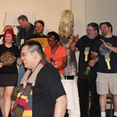 Three cheers for #timegate2016's #Gallifrey #GameNight. I laughed a lot during this event. Too much fun. #TimeGate #DoctorWho