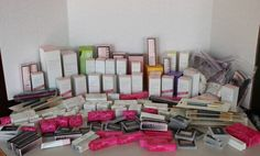 Mary Kay Old Stock Discontinued HUGE Lot 197 Lipstick Foundation ECT Over $4000 #MaryKay